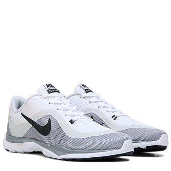 Nike Flex Trainer 6 Training Shoe White/Anthrct-Pr Plt