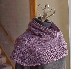 Kriskrafter: Free Knitting Pattern - Soft Shoulder Cowl I must have one. Right after shows are done I'm starting this for myself!!!