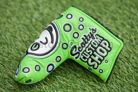 Scotty Cameron Custom Shop 2015 Jackpot Johnny Lime blade headcover