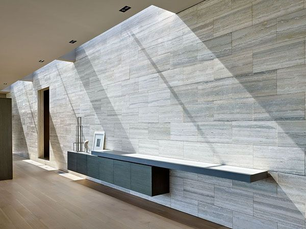 skylight. Spectacular minimalist home design in Los Angeles by SPF Architects