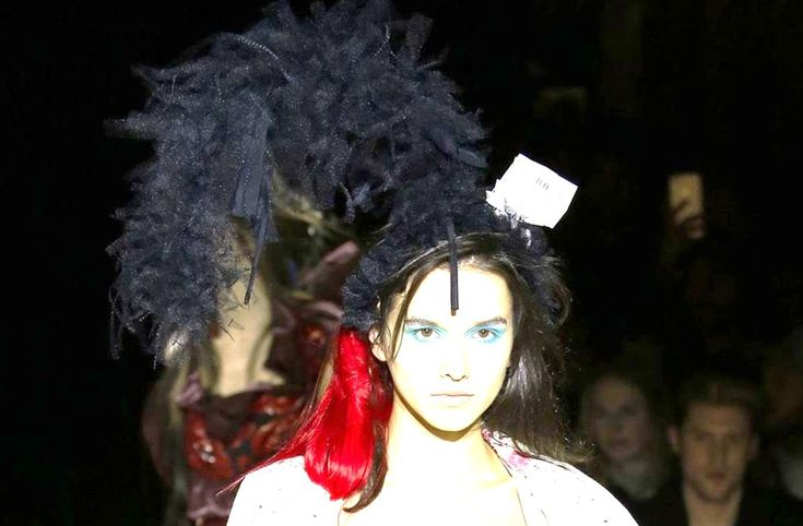 Couture Hat 4 by PRUDENCE MILLINERY Andreas Kronthaler for Vivienne Westwood AW2017/18