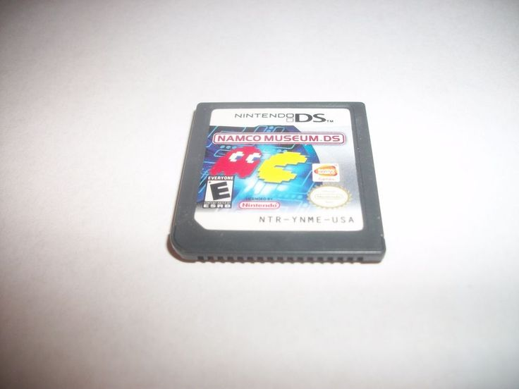 Namco Museum DS (Nintendo DS, 2007) dsi 3dsds lite  GAME ONLY FREE SHIPPING!