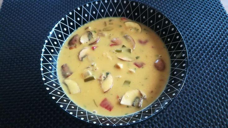 Hähnchen-Curry-Lauch-Suppe, ein schönes Rezept aus der Kategorie Käse. Bewertungen: 101. Durchschnitt: Ø 4,8.