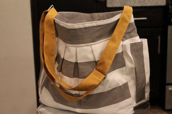 Sale was 54.99 Sassy Striped Bag great diaper or by SavvyChevy