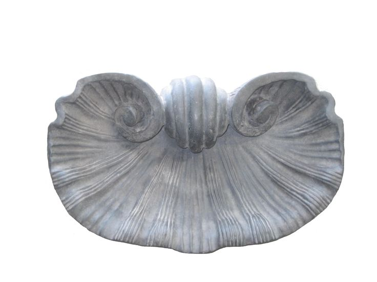 Buy #MD-SS  Scallop Shell by Montecito Design - Quick Ship designer Accessories from Dering Hall's collection of Rustic / Folk Traditional Decorative Objects.