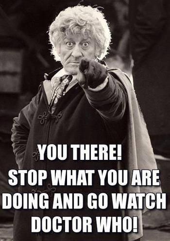 Doctor Who But I'm only on Hartnell! I can't watch you yet, Pertwee!
