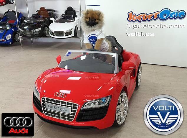 Pequeño Cañón Pomerania piloto oficial de prueba de coches VOLTI Coches infantiles eléctricos de venta en España wew.volti.es