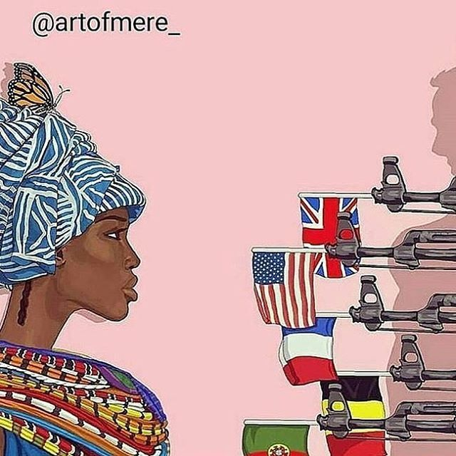 """🔥🔥🔥 RepostBy @thenewblackstarline: """"Part 1 #TBT GIVE THEM BACK THEIR RELIGION/IDEOLOGY/TERMINOLOGY  Prior to 1880, there was no country called Nigeria, Niger, Benin, Togo, Ghana, Gabon, Zimbabwe, Somali, Somaliland, Burkina Faso, Cameroon, Tanzania, Mauritania, Mali, Guinea, Rwanda, Ivory Coast, Kenya... The colonial borders and the idea of different NATIONALITIES mean very little to Afrikans, who see their shared ANCESTRY and ETHNICITY before what is the RECENT CONCEPT of NATIONALITY or…"""