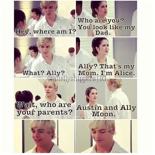 So those it mean austin and ally are going to get married and have kids  Yay