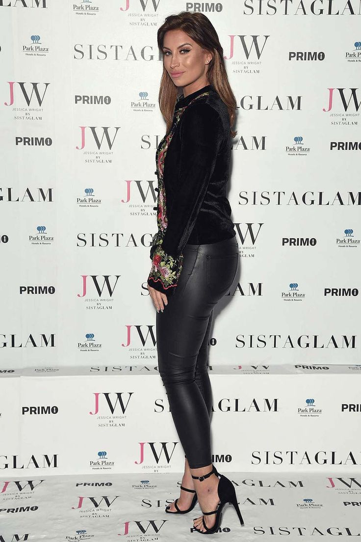 Christmas door decorating davina mccall interview 2015 celebrity interviews - Ferne Mccann At Jessica Wright S Sistaglam Launch Party