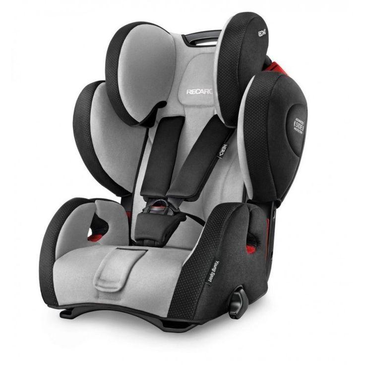 La silla de auto Recaro Young Sport es la silla de Recaro que se ocupa de proteger a los peques desde los 9 meses hasta los 12 años.