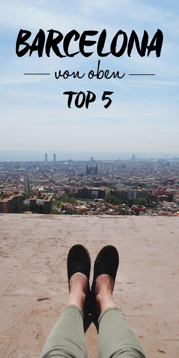 Barcelona von oben - TOP 5 Reiseblog // Reisetipps http://juliaslieblinge.de/essays/2015/04/barcelona-von-oben-top-6/ #spanien #reise #vamosreisen (Top View)