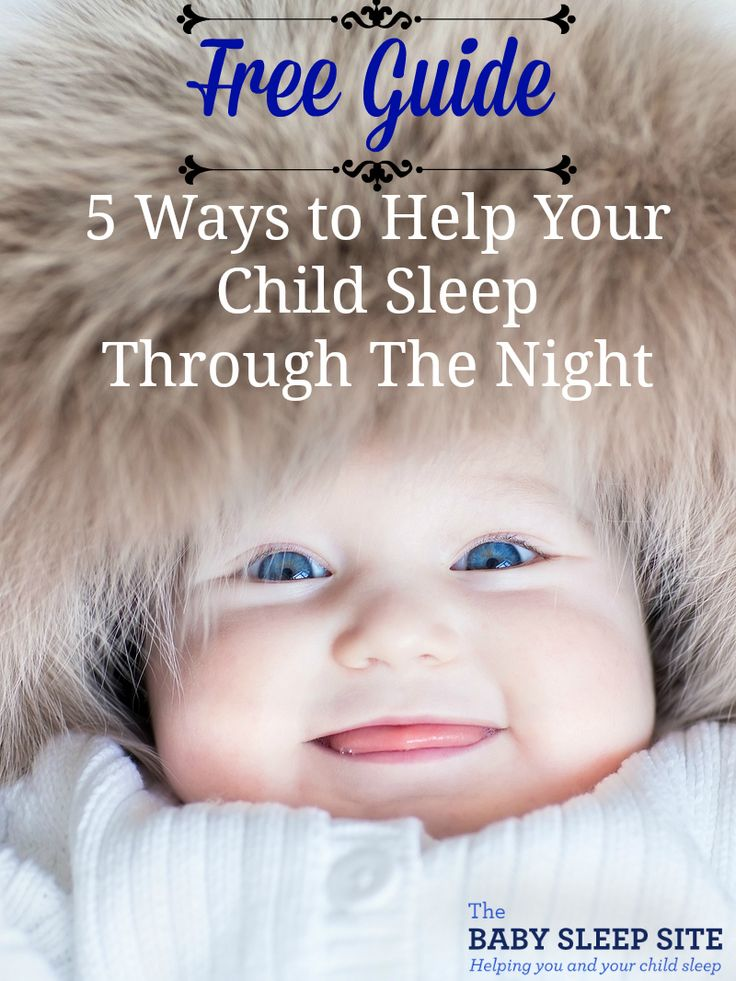It's never too soon – or too late – to learn more about your baby's sleeping habits and what steps you can take to promote your baby or toddler sleeping through the night. The information you learn right now can be put to work as early as your baby's next bedtime. Download today, because you don't want your baby (or you!) to lose another minute of sleep!