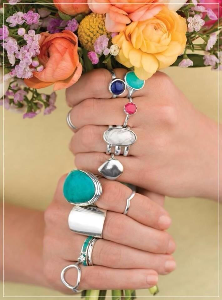 Finger Candy!!  New Silpada jewelry is available today!