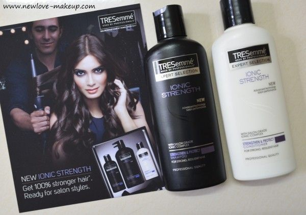 TRESemmé Ionic Strength Range Shampoo, Conditioner Review