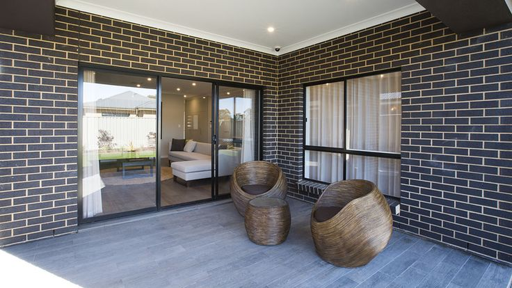 This cosy alfresco is the perfect place to entertain guests. #weeksbuildinggroup #newhome #homedesign #homedecor #interiordesign