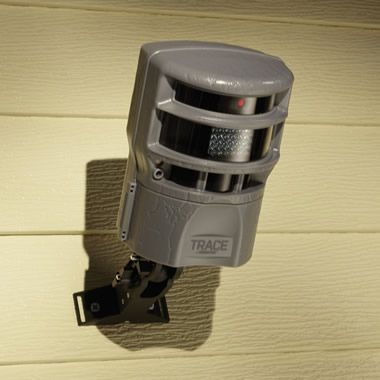 The Panoramic Night Vision Security Camera - Hammacher Schlemmer