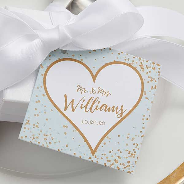 10 Photo Personalized Wedding Candy Bar Wrappers Customized Weddings Favor