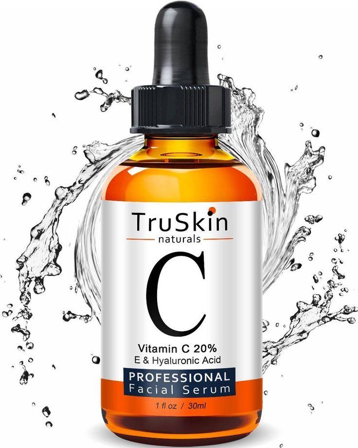 Vitamin C Serum for Face Organic Anti Aging Topical Facial w Hyaluronic Acid 1oz | eBay