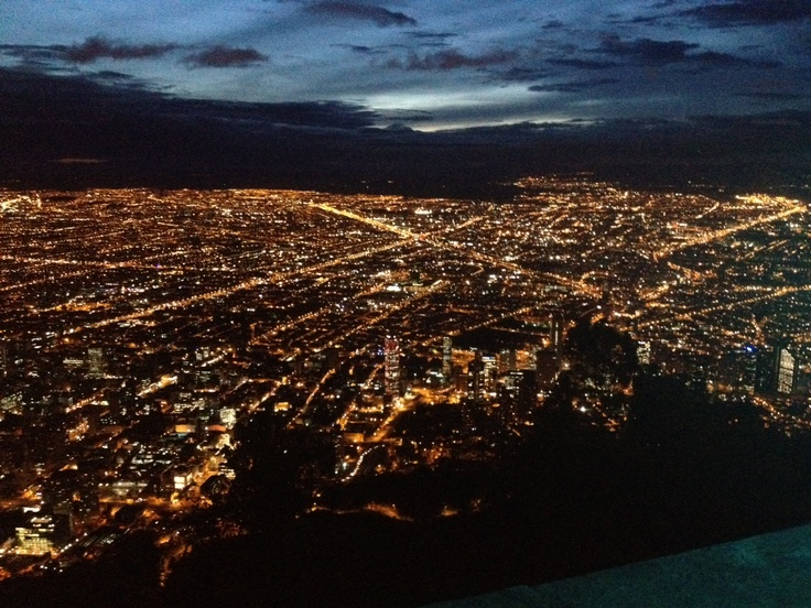 Bogota, Colombia  View from Monserrat