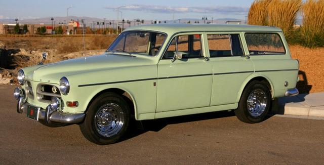 1966 Volvo 122s wagon