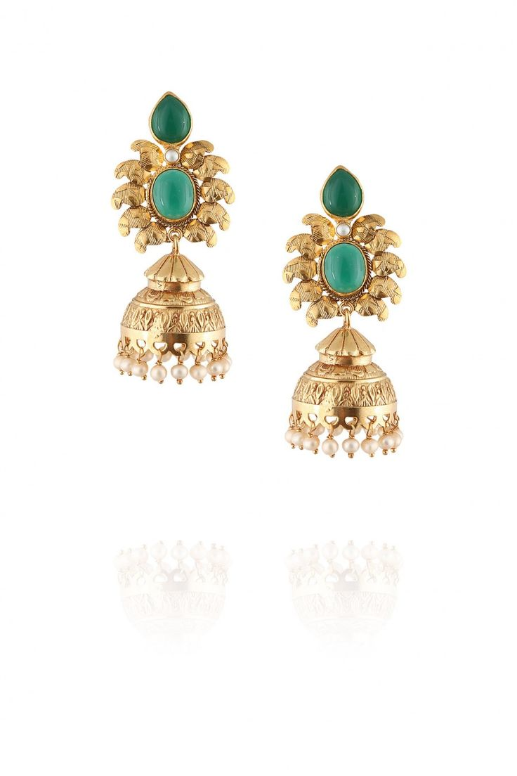 #perniaspopupshop #amrapali #goldfinish #intricate #jewellery #earrings #shopnow #happyshopping