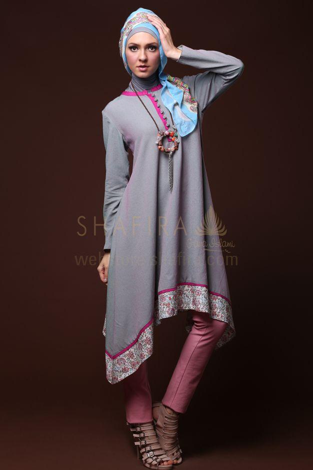 TAPER COTTON BLOUSE #Hijab