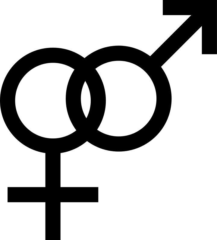 Heterosexuality Symbol Intersex Transgender S Amp U Lgbt