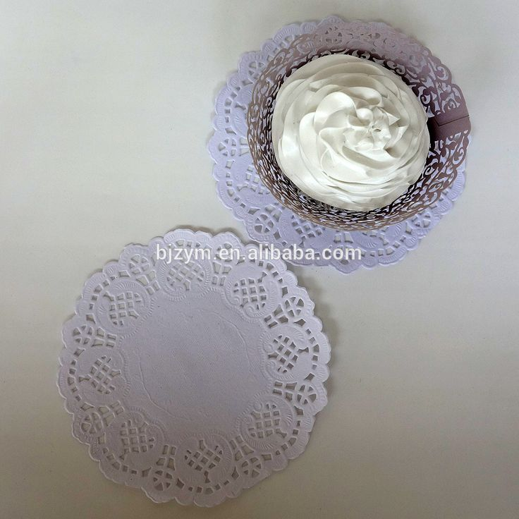 Check out this product on Alibaba.com APP Laser cutting Round white cake decorating tools Paper Doilies