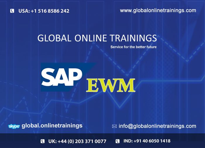 We are providing  Live Online Demo on SAP EWM &WM , interested people register in website | 91-40-6050-1418