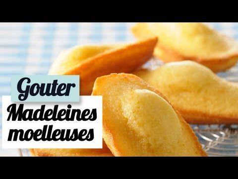 Madeleines moelleuses - Recette facile pour le goûter - YouTube