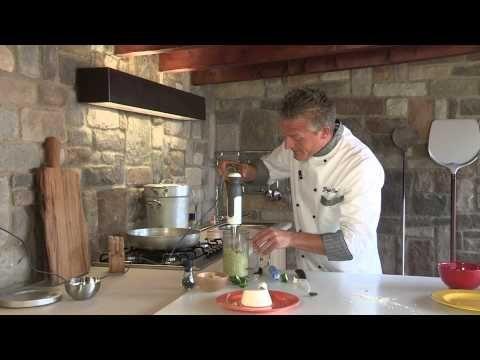 linguine al pesto di zucchine - VideoRicetta - Grigio Chef - YouTube