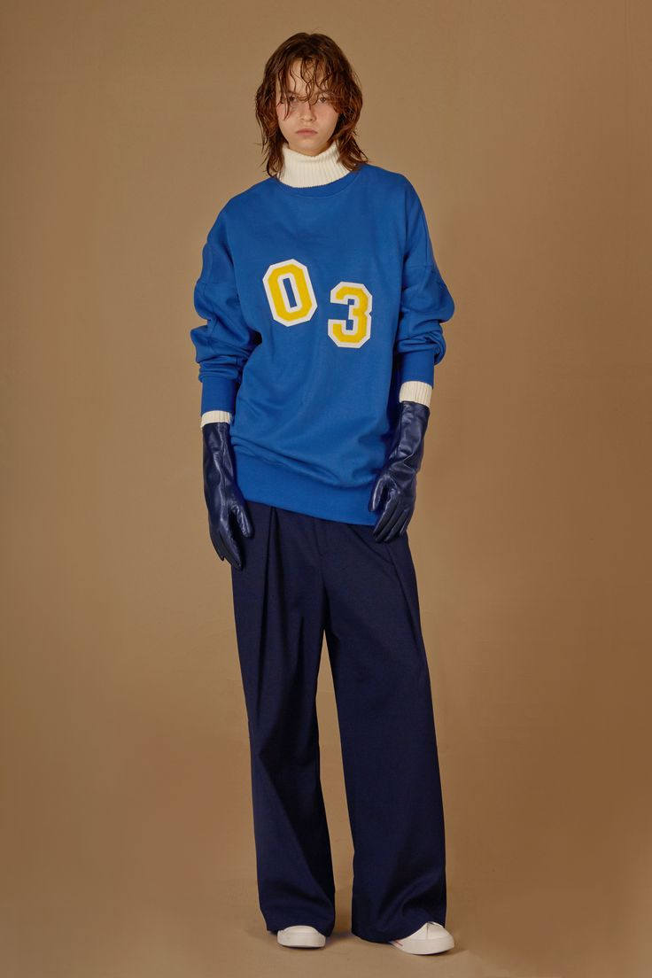 Autumn/Winter collection 2017 collection #ader #blue