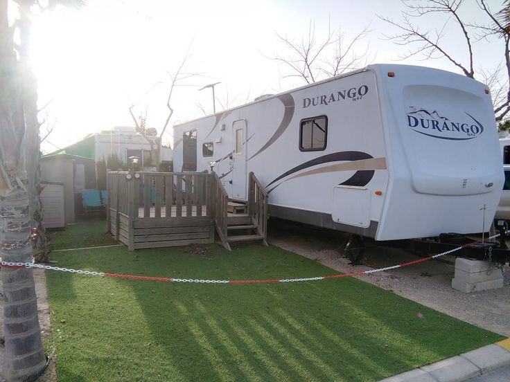 American Durango Mobile Home For Sale On Camping Almafra Caravan Park In Benidorm Site Fees