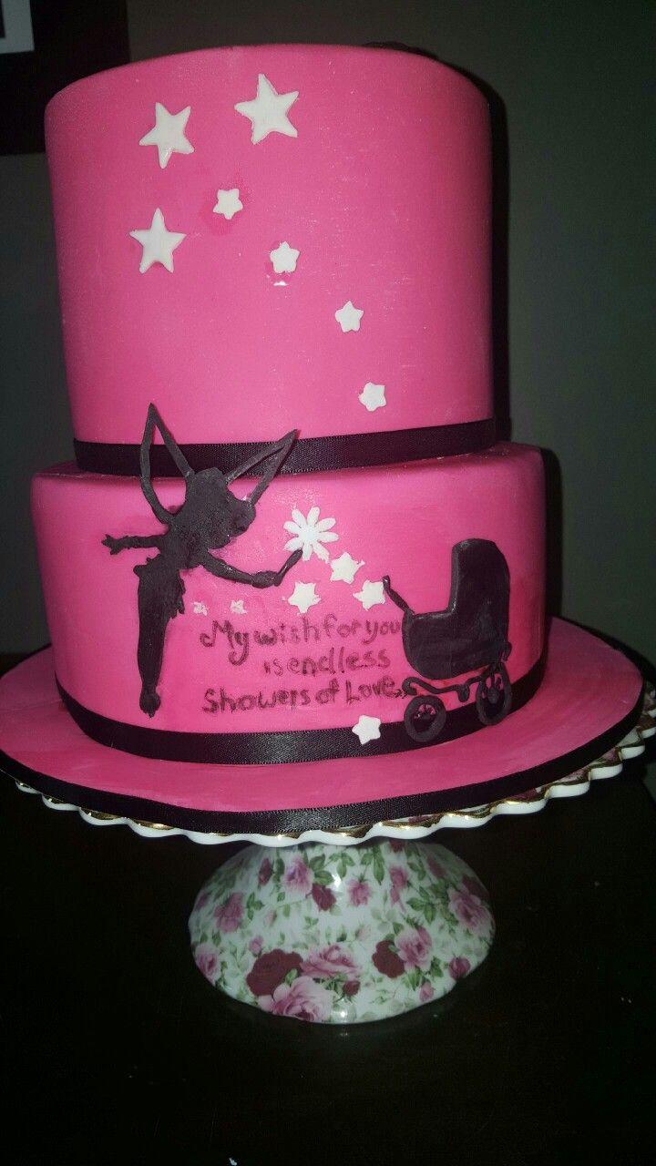 Babyshower Tinkerbell Cake