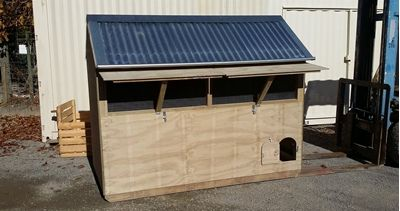 Apex Rabbit House - Appletons - Animal Housing and Poultry Supplies