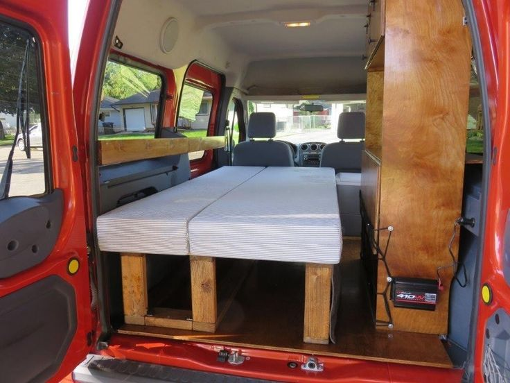 2002-2013 Ford Transit Connect Camper Conversion