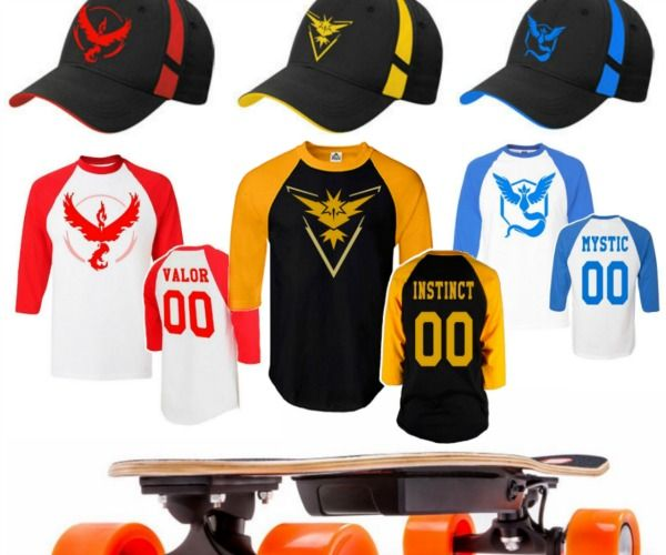 Get your #PokemonGO gear for FREE when you tell your friends about the PokeGrabber store #GottaCatchEmAll