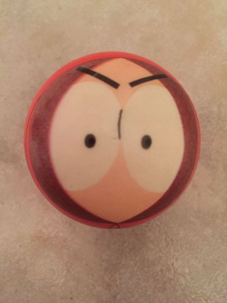 """Comedy Central South Park Angry Kenny Foam Ball Collectible 2""""  