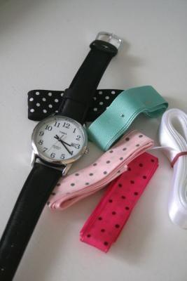 Uhren Armband selber machen