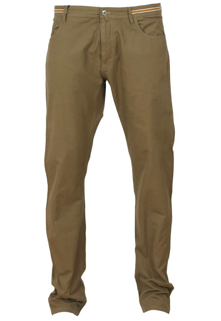 Pantaloni Massimo Dutti Simple Dark Brown