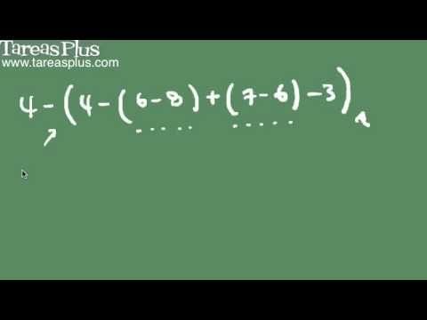 Polinomios aritméticos parte 3 (destrucción signos de agrupación)