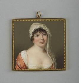 Madame de Staël, c. 1805, Louis-Ami Arlaud-Jurine