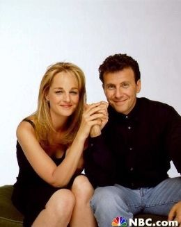 Paul Reiser (Paul) and Helen Hunt (Jamie) - Mad About You