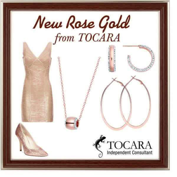 Beautiful Rose Gold in our New Catalog!