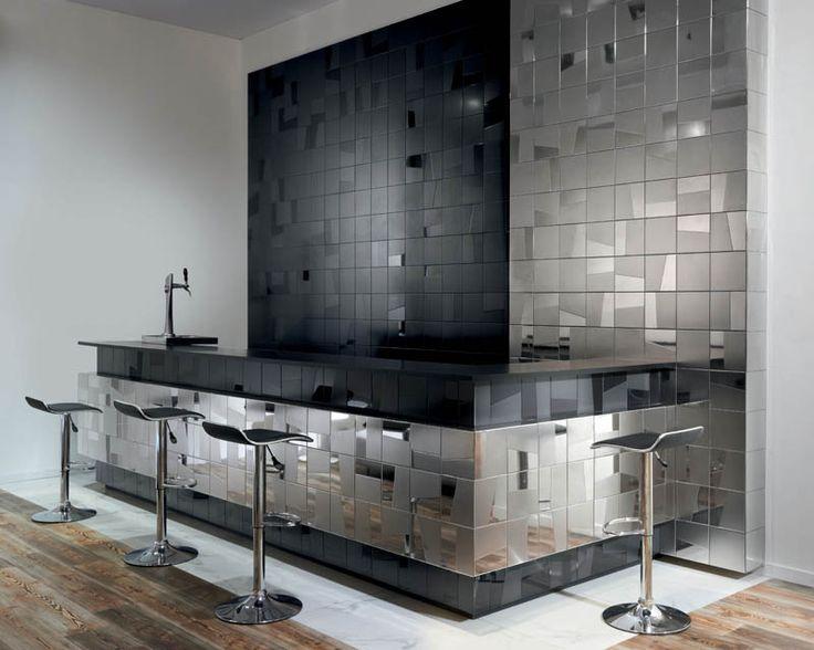 Aparici u0027Logic Silveru0027 ceramic wall tiles available