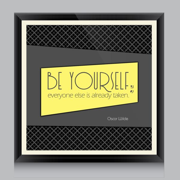 Quotes on Frame by Ilgın Itır Midilli, via Behance