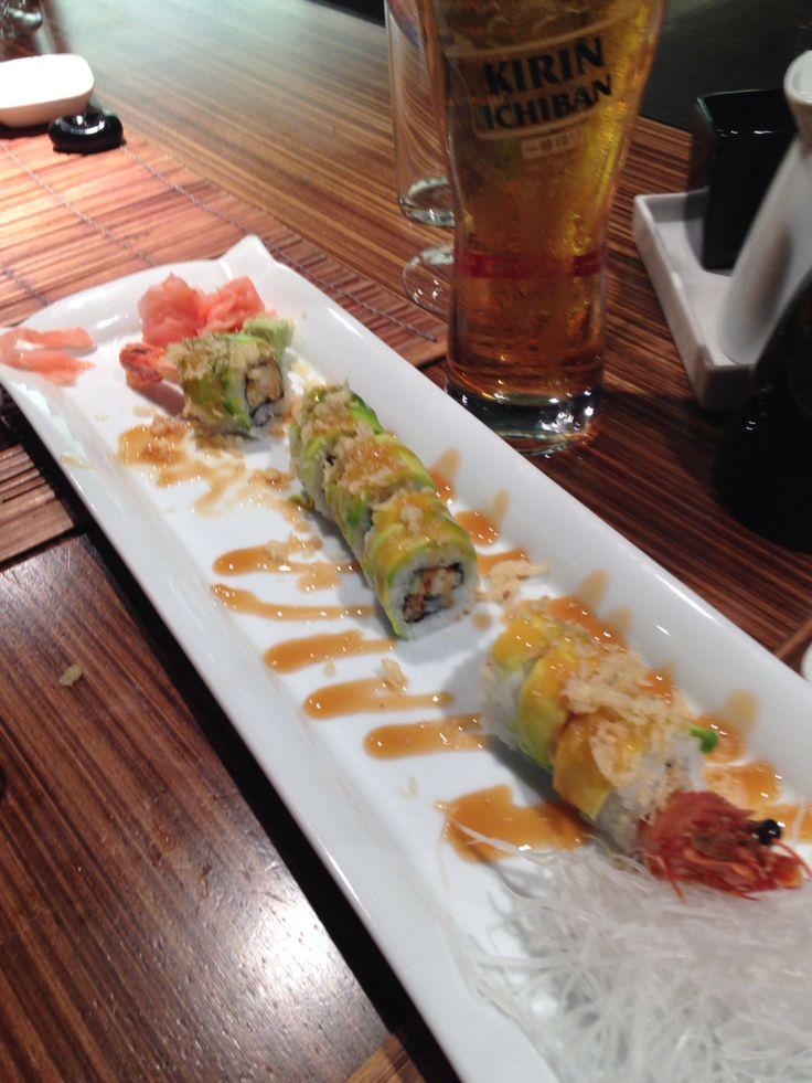 Caterpillar roll at Yu Mi Kitchen. So delicious.