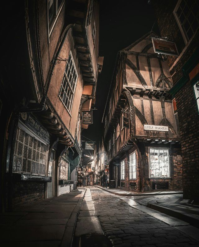 "Joe O (@hbojho) on Instagram: Shambles Market, York. ""Interesting choice to name this area after Leeds United FC... . . #york #theshambles #yorkshire…"""