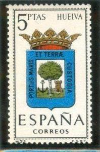 1963 España-Escudo de la Provincia de Huelva